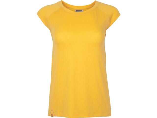 Rab Crimp Lyhythihainen T-paita Naiset, sulphur